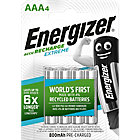 Piles rechargeables Energizer Recharge Extreme AAA