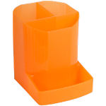 Pot à crayons Dauphin Fantasy Works 9 x 12,3 x 11,1 cm Orange