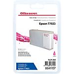 Cartouche jet d'encre Office Depot Compatible Epson T7023 Magenta