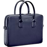Sacoche PC Portable MOBILIS Origine Briefcase Cuir Bleu