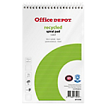 Bloc notes Office Depot Recycled 125 x 200 mm 70 g