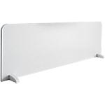 Panneau écran Elégance Blanc 160 (L) x 1,9 (P) x 50 (H) cm