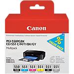 Cartouche jet d'encre Canon D'origine PGI 550