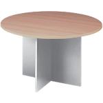 Table de réunion Elégance 760 mm Blanc