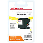 Cartouche jet d'encre Office Depot Compatible Brother LC125XL Jaune
