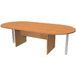 Table de réunion Busyline 2200 x 1100 x 720 mm Imitation aulne