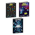 Agenda scolaire Quo Vadis Space Invaders 1 Jour par page 2019, 2020 Assortiment
