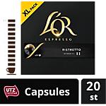 Dosettes de café L'OR   20 Unités