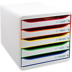 Module de classement Exacompta Big Box Plus Classic 5 27,8 x 34,7 x 27,1 cm Blanc Arlequin