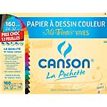 Papier coloré Canson Mi Teintes 160 g