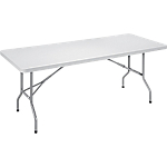 Table pliante 1 220 x 610 x 740 mm Gris