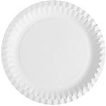Assiettes en Carton Papier PAPSTAR Blanc   100 Unités