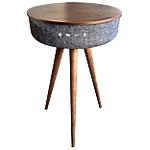 Table enceinte bluetooth Blaupunkt BLP0500 Marron, Gris