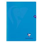 Cahier petits carreaux piqué Polypro Clairefontaine Mimesys A4 Assortiment 96 Pages   48 Feuilles