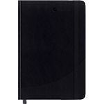 Carnet couverture rigide ligné Foray Noir A4 Ligné Sans perforation 160 Pages   80 Feuilles