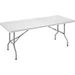 Table pliante 1 830 x 760 x 740 mm Gris