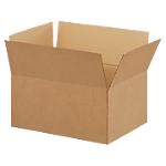 Caisse américaine Niceday Carton ondulé simple cannelure 200 (H) x 427 (l) x 304 (P) mm Marron   20 Unités