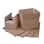 Caisse carton Carton 500 (l) x 400 (P) x 400 (H) mm Kraft   20 Unités
