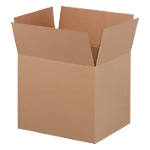Caisses américaines Niceday Carton ondulé simple cannelure 480 (H) x 590 (l) x 490 (P) mm Marron   20 Unités