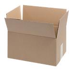Boîte d'emballage Niceday Carton ondulé simple cannelure 304 x 217 x 150 mm Marron   20 Unités