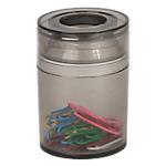 Pot à trombones magnétique Office Depot 6,2 x 6,2 x 7,3 cm Fumé