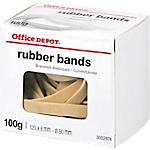 Bracelets élastiques en caoutchouc Office Depot 120 x 8 mm Ø 80 mm   100 g