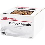 Bracelets élastiques caoutchouc Office Depot 100 g   100 g