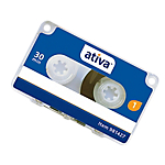 Mini cassette 30 min Ativa 981427