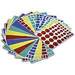 Gomets geométricas APLI Surtido 956 etiquetas por paquete
