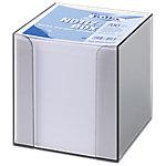Caja portanostas+ taco blanco Folia 90 x 90 mm transparente 700 hojas