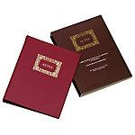 Libro de actas Ingraf Móvil Granate Folio 215 (a) mm
