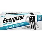 Pila alcalina Energizer Max Plus AA, Batería de un solo uso, AA, Alcalino, 1,5 V, 20 pieza(s), Cd (cadmio), Hg (mercurio) E301323500