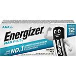 Pila alcalina Energizer AAA 20 unidades