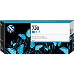 Cartucho de tinta HP 730, Original, Tinta a base de colorante, Cian, HP, HP DesignJet T1700 Printer series, 300 ml P2V68A