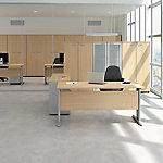 Mesa operativa de oficina Quadrifoglio Practika P1 haya 1.400 x 800 x 730 mm