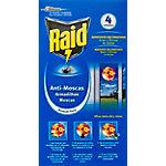 Adhesivos Raid Anti Moscas 4 unidades