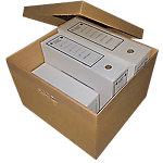 Tapa caja Box Cart S.L. cartón ondulado doble cara Canal C3 marrón 37,3 (a) x 22 (p) cm 25 unidades