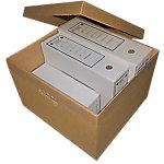 Caja de cartón ondulado con tapa Box Cart S.L. Doble cara 373 (A) x 105 (P) x 220 (H) mm