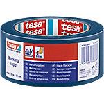 Cinta PVC tesa 50 mm x 33 m azul