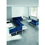 Módulo sofá recto Quadrifoglio Astro azul