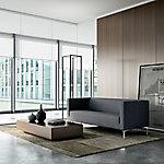 Sofá 2 asientos Quadrifoglio ARTE crema