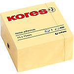 Notas adhesivas Kores amarillo parchi