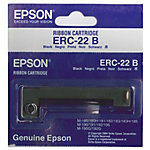 Cinta para impresora Epson ERC22B negro