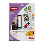 Papel magnético APLI 10245 8 hojas