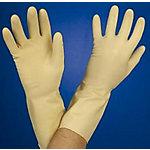 Guantes de menaje Celea Satinados látex 100% talla s natural 12 unidades