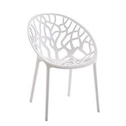 Silla confidente HOPE blanco
