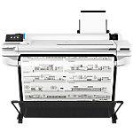 Impresora de gran formato de inyección de tinta HP Designjet T525, 2400 x 1200 DPI, Inyección de tinta térmica, HP GL