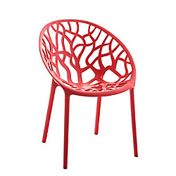Silla confidente HOPE rojo