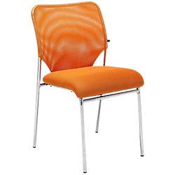 Silla de Recepción Amberes Tela naranja