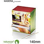 Agitador para café naturesse madera natural 1000 unidades
